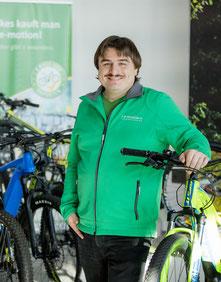 Nicki Schlozer, e-motion e-Bike Welt Reutlingen