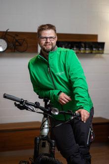 Mirco Theuer, Auslieferung, e-motion e-Bike Premium-Shop Velbert