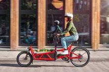 Nachhaltige Mobilität mit e-Lastenrädern