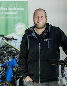 Sascha van Steen, e-motion e-Bike Welt Reutlingen