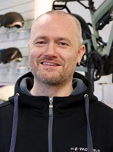 Tobias Funk, e-Bike Service Berlin-Mitte