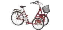 Pfau-Tec Primo Dreirad und Elektro-Dreirad für Erwachsene - Front-Dreirad 2017