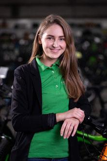 Vanessa Sperveslage, Backoffice, e-motion e-Bike Premium-Shop Velbert