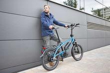 Riese und Müller Klapp e-Bikes und Kompakträder im e-motion e-Bike Premium Shop Köln
