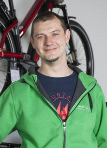 Jens Conrad von der e-motion e-Bike Welt in Erbach bei Ulm