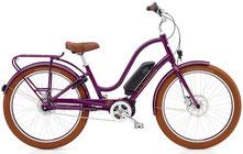 Electra Townie Go City e-Bike grün Wave-Rahmen
