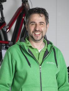 Carsten Rabe von der e-motion e-Bike Welt in Erbach bei Ulm