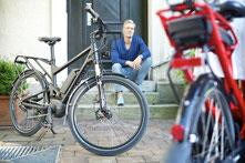 Riese und Müller Trekking e-Bikes und Touren e-Bikes im e-motion e-Bike Premium Shop Köln