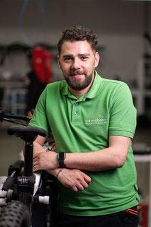 Salvatore Chime, e-Bike Beratung und Verkauf, e-motion e-Bike Premium-Shop Velbert