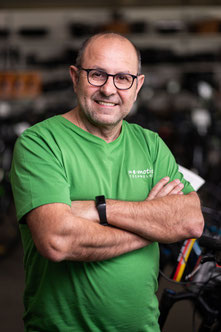 Carmelo Belfirore, e-Bike Beratung und Verkauf, e-motion e-Bike Premium-Shop Velbert