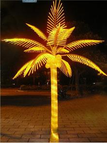 Светодиодная пальма.