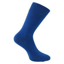 Herrensocken blau