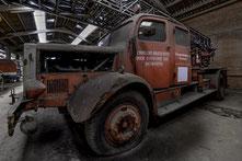 Oude brandweerwagens