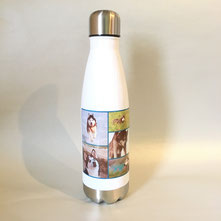 Druckatelier46 - Personalisierbare Trinkgefäss Edelstahl - 500ml mit Fotodruck