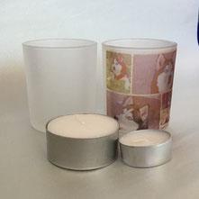 Druckatelier46 - Fotogeschenk - Teelicht, Kerzenständer