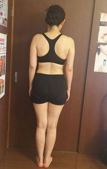 DNAパーソナル痩身を体験されている40代女性