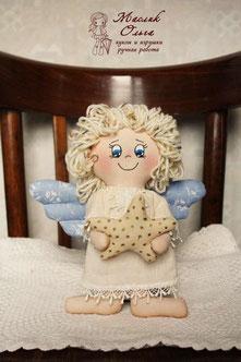 текстильная куколка ангел
