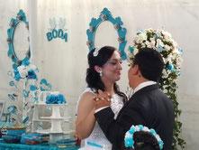 Karaoke Luz y Sonido en la boda de Pedro y Monserrat  con su servicio de dj para bodas