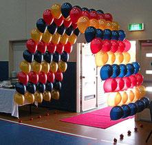 tunel globos con helio