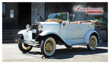 "Ford Model ""A"" Standard Phaeton, Cabriolet, creme/beige"