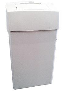 Damenhygienebehälter, Wandbefestigung