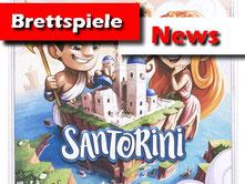 Brettspiel News zu Santorini