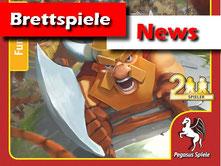 Brettspiele News von Pegasus: Castle Rampage