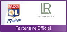 Aloé Vera Santé avec LR Health & Beauty : LR Health & Beauty qui est installé à Caluire près de Lyon en France a annoncé son partenariat avec l'OL féminin en Juillet 2016.