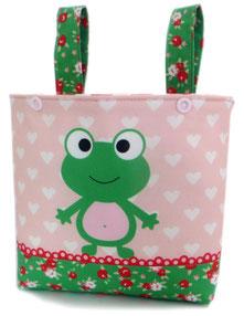 Tasche für Laufrad Puky in grün für Mädchen