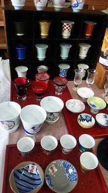 五十嵐陶器店さんセレクトこだわりの器たち。