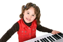 Keyboardunterricht Kinder