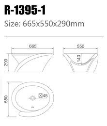 Waschtisch R-1395-1