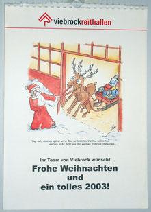 Viebrock Reitanlagenbau | Kalender | Illustration und Gestaltung