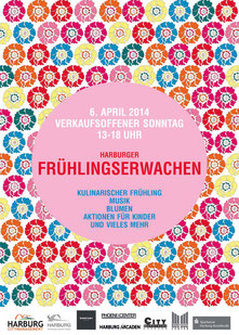 Harburg City Management Plakatentwurf