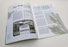 Forstbetriebsgemeinschaft Soltau | Folder Jubiläum | Gestaltung