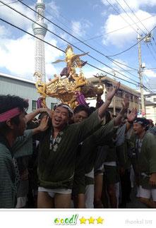 ともチンっ♪さん: 牛嶋神社祭礼