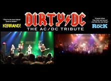 Rockkonzert Wangen Band DIRTY DC Hauptact aus EnglandAnsprechpartner Dani Vogt