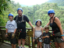 Canopy Tour perfect for Family