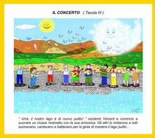 Il concerto - III^ tav. con didasc.
