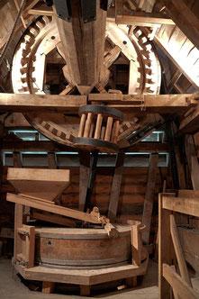 Intérieur du Moulin de Valmy