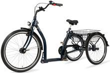 Pfau Tec Classic Dreirad und Elektro-Dreirad für Erwachsene - Shopping-Dreirad 2017
