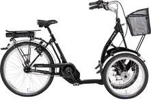 Pfau-Tec Front- und Shopping-Dreirad mit Elektromorot Pronot finanzieren mit 0%-Finanzierung