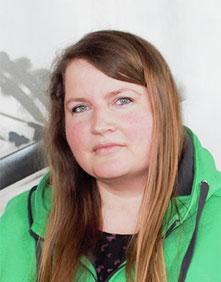 Nicole, Büroleitung beim Dreirad-Zentrum in Hamburg
