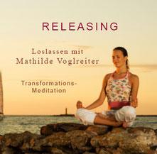 Cover CD Releasing Loslassen von Mathilde Voglreiter