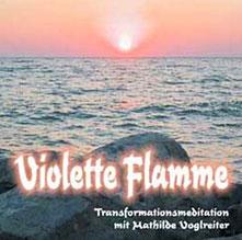 CD Cover Violette Flamme von Mathilde Voglreiter Bad Reichenhall