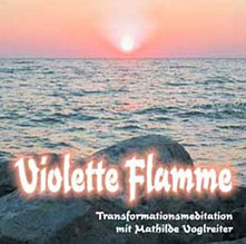 CD Cover Violette Flamme von Mathilde Voglreiter