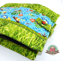 Käferbuch Spielbuch aus Stoff nähen