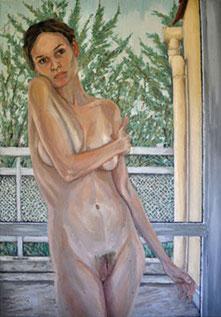 Sophia Konstanze Rüthel, Öl auf Leinwand, 100x70 cm, 2008