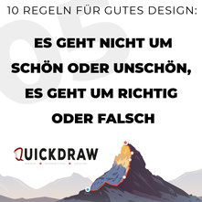 Bild zeigt die Typographie von Richtig oder Falsch