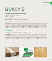 Produktinformation DUKSY D